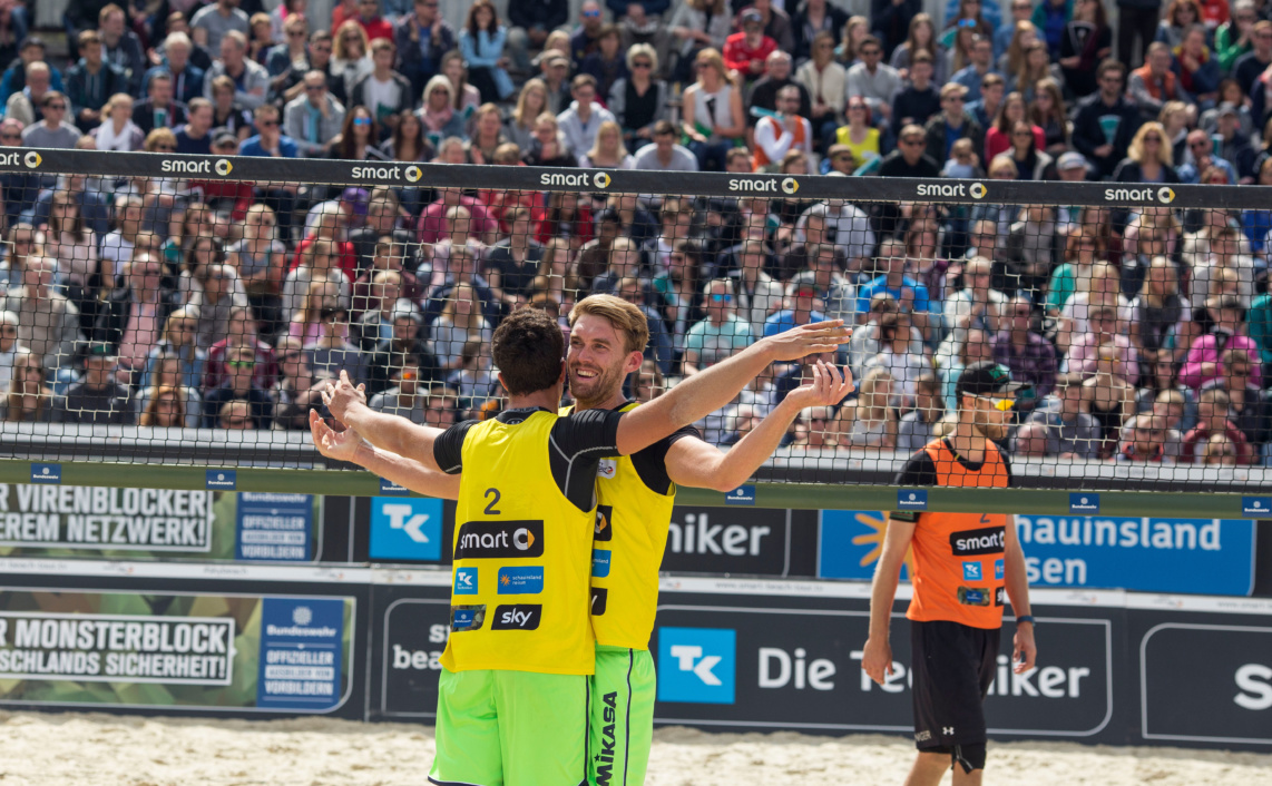 Reportage Fotografie. Beachvolleyball, Smart Cup, Münster